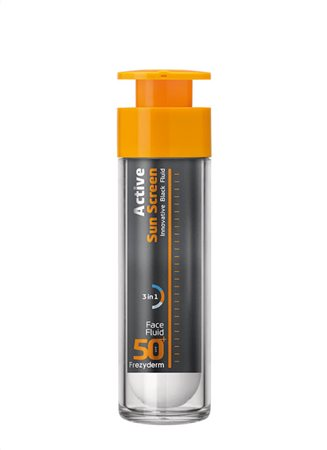 ACTIVE SUN SCREEN FACE FLUID SPF 50+