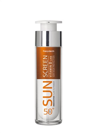 SUN SCREEN FLUID-TO-POWDER SPF 50+