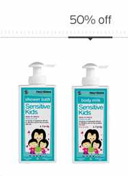 Sensitive Kids Everyday Bath Routine